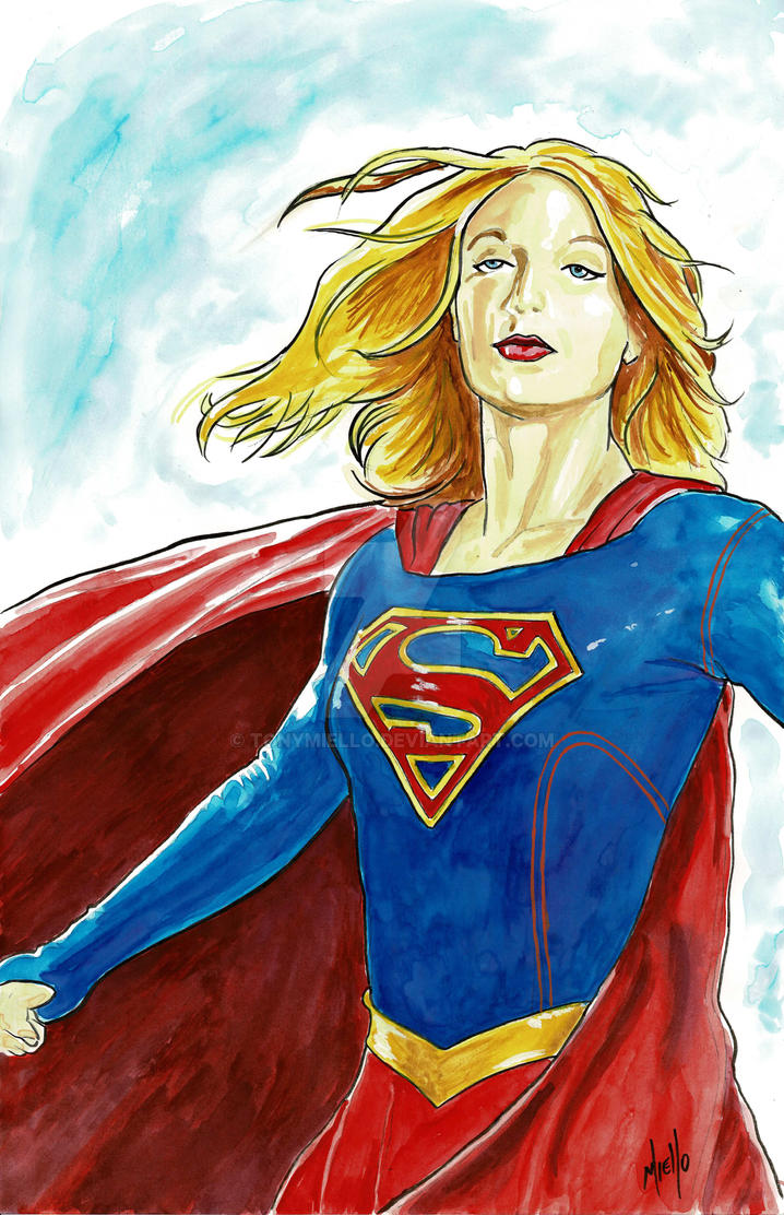 Supergirl by TonyMiello