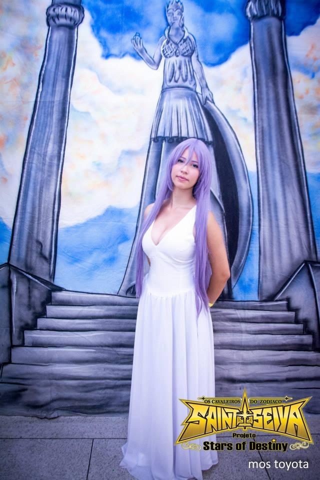 Sasha Athena - Saint Seiya Lost Canvas by starsofdestinySOD