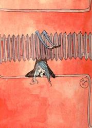 18. Just a doodle by mellenes
