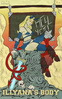 Marvel goes to Hollywwod: Illyana Rasputin by Guolfo