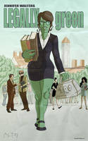 Marvel goes to hollywood: She Hulk by Guolfo