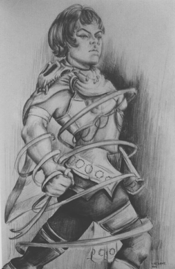 Warrior woman by TheMerilineth