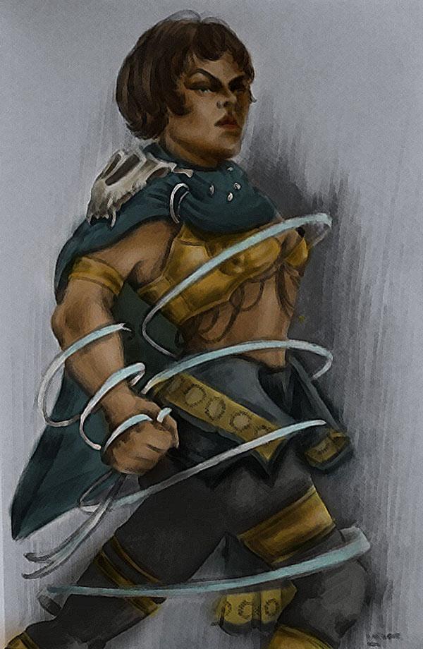 Warrior woman2 by TheMerilineth