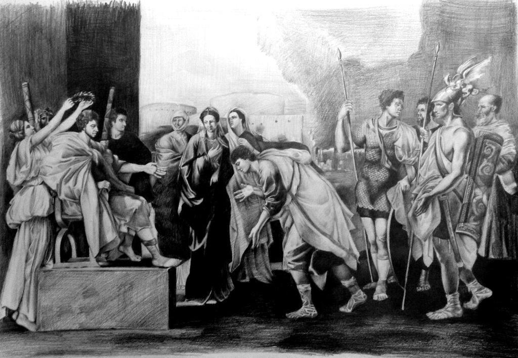 The Continence of Scipio by TheMerilineth