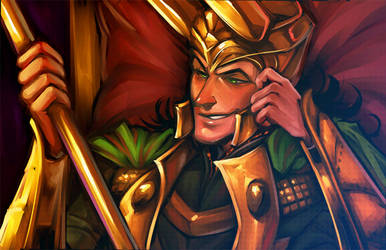 King of Mischief by stripes-and-teeth
