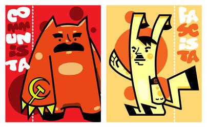 History's Monsters by omniskriba