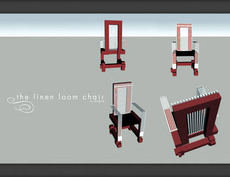 The Linen Loom Chair