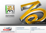 71Squared (Glyph Designer Icon concept design)