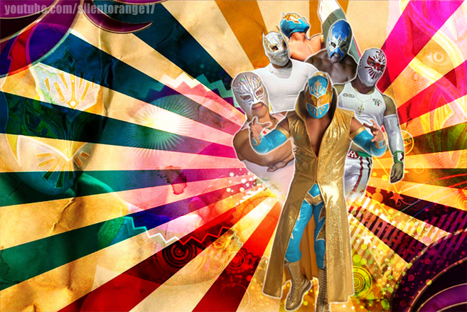 Sin Cara Family Wallpaper By Silentorange15