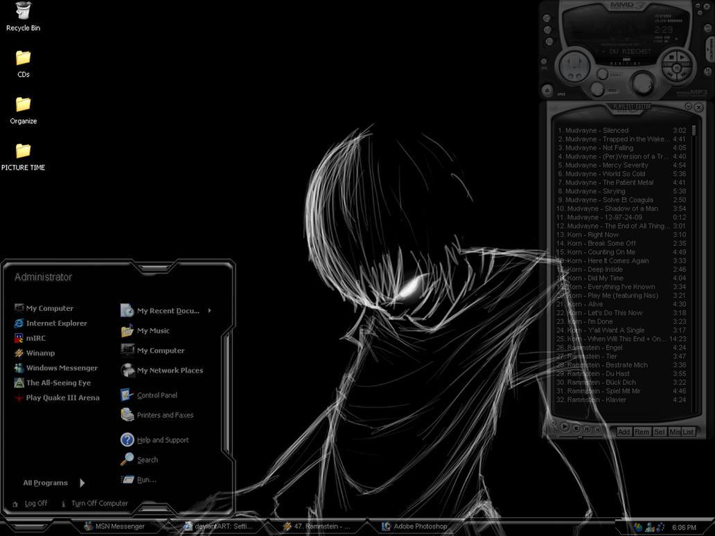 Dark boy screen shot by f705t