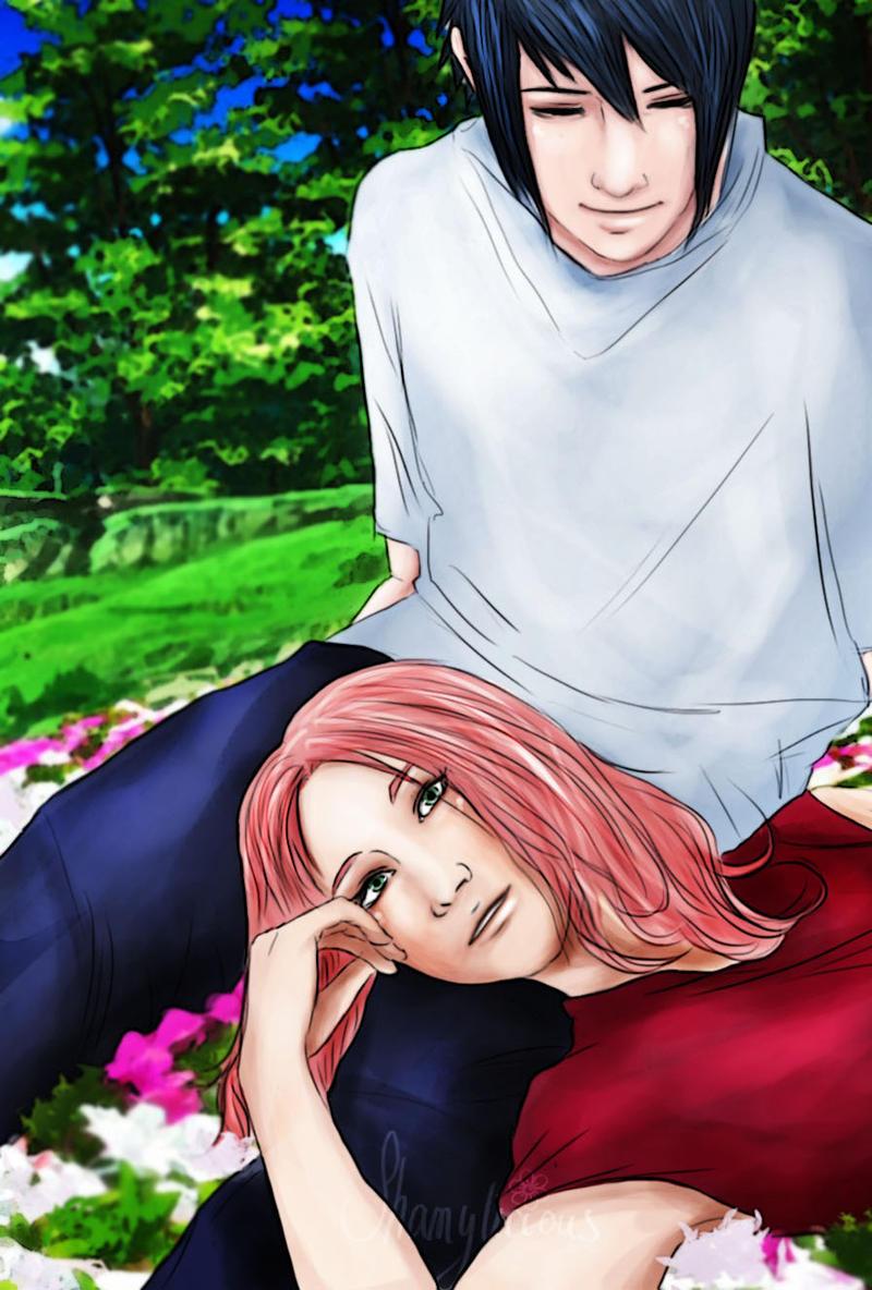 Sasuke x Sakura by shamylicious on DeviantArt