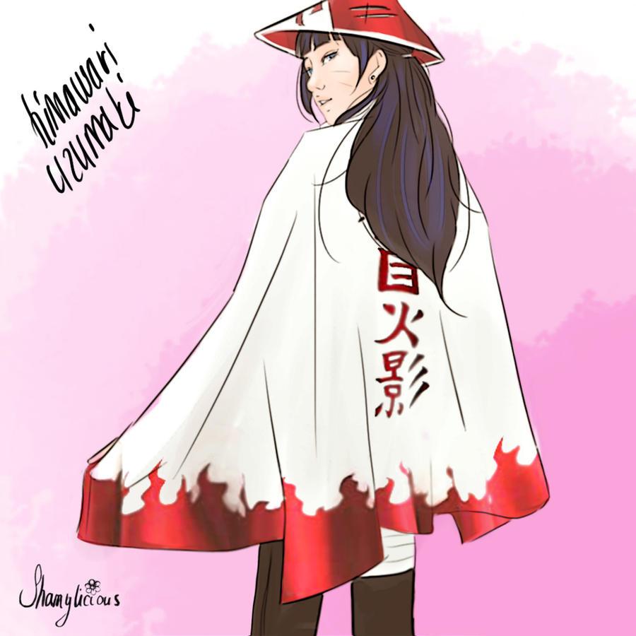 himawari hokage by shamylicious