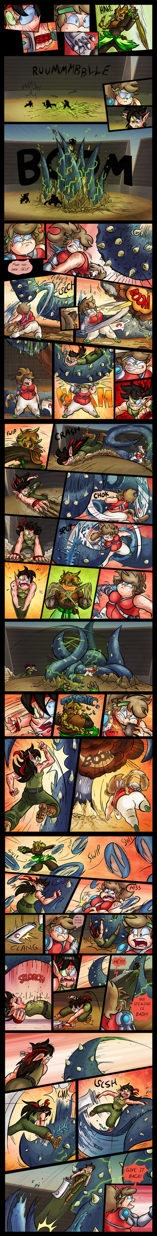 FT-OCT :: Final Round - Kat v Moon v Wryn P3 by Spectrumelf