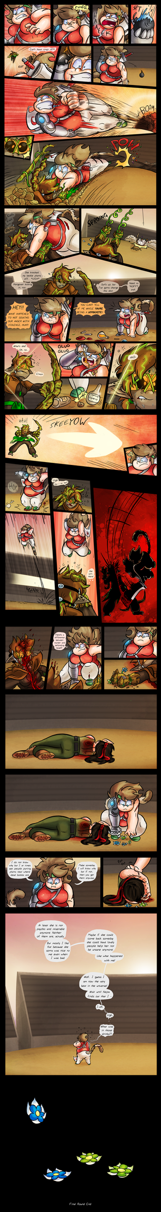 FT-OCT :: Final Round - Kat v Wryn v Moon P6 by Spectrumelf