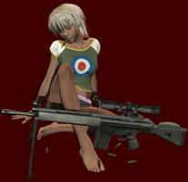 Sniper Sasha 2 by RedWireDesigns
