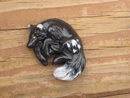 Zulaya Sculpted Magnet by ZulayaWolf