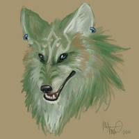 Wolf Link speedpaint by ZulayaWolf