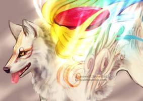 White Light Majesty by ZulayaWolf