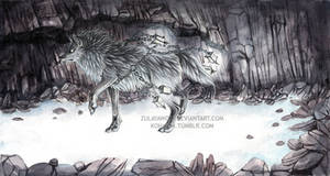 Silver Spirit by ZulayaWolf