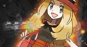 Serena  Pokemon X and Y  Girl Trainer Banner