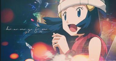 Dawn Hikari Signature Banner // Pokemon DP