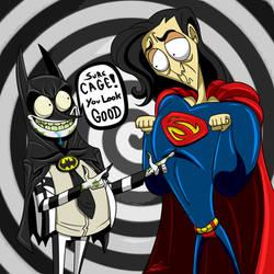 Batman and Superman (Tim Burton)