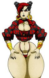 Karma Chun Li (Nicki Minaj version). by TheRizkPiecraft
