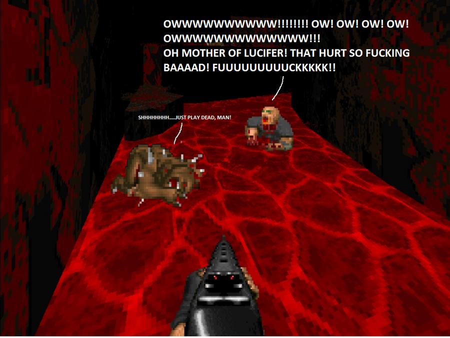 Doom: Zombie Hell by Starmansurfer