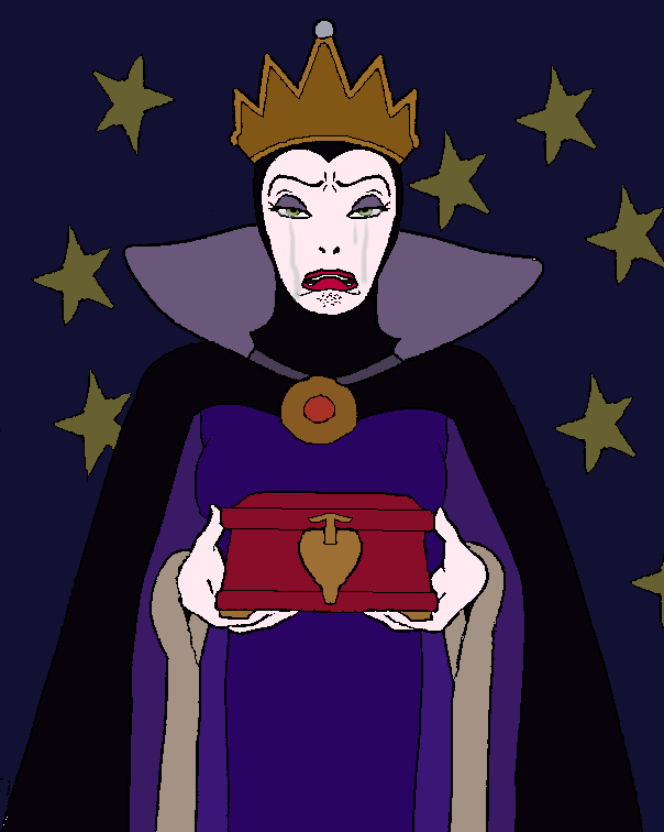 Evil Women Crying: Evil Queen by Starmansurfer
