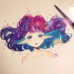 Hair and stars