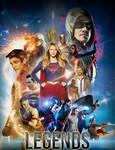 Dc comics Heroes of The CW