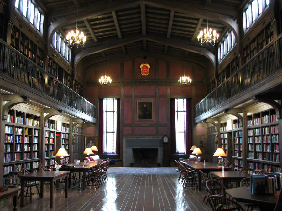 Yale Medical Library Old Yale Library by fe...