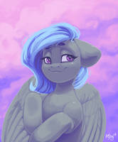Purple clouds by AmiShy