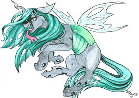 Queen Chrysalis by AmiShy