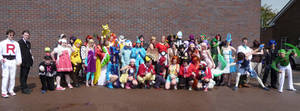 Pokemon at Amecon by sjbonnar