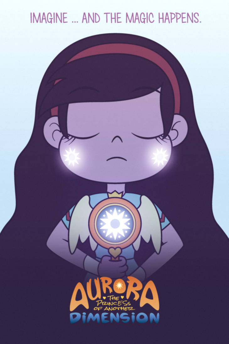 Aurora: The Princess of Another Dimension - Poster by jgss0109