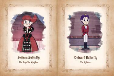 Queens Siblings - Jokinna and Redwarf by jgss0109