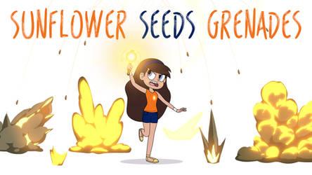 Aurora Spells - Sunflower Seeds Grenades by jgss0109