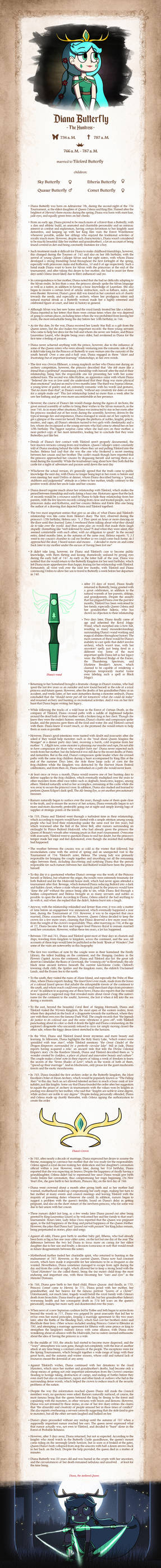Diana the Huntress - Biography