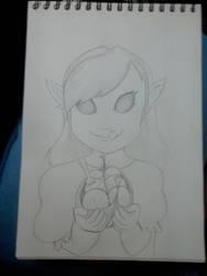 Gift: Freya and her takoyaki by I-Redeemer-I