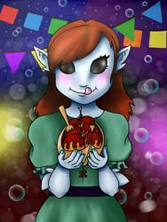 Gift: Freya's Takoyaki by I-Redeemer-I