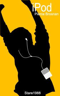 Pierce Brosnan's iPod AD 2 by stare1988