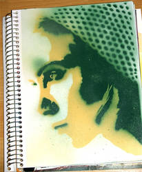 Keira Knightley stencil by les-cerceaux