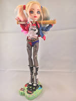 Custom Suicide Squad Harley Quinn by Downtownpunk