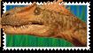 Dinosaur Stamp by LiChiba