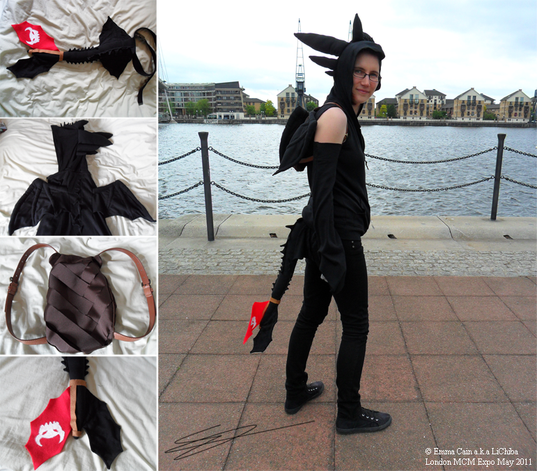 how to train your dragon cosplay toothless
