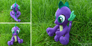 Spike the Dragon from MLP Plush - V2
