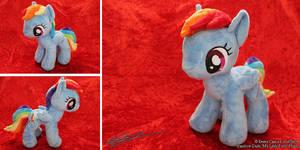 Rainbow Dash My Little Pony Plushie