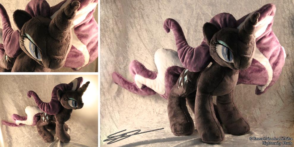 Nightmarity My Little Pony Plush by LiChiba