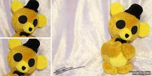 Golden Freddy FNAF 3 inspired Plushie by LiChiba